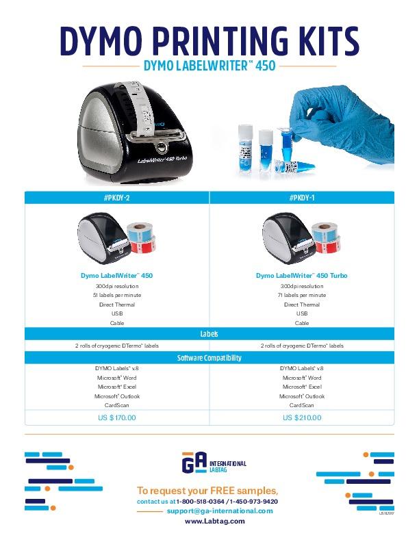 DYMO Printing Kits