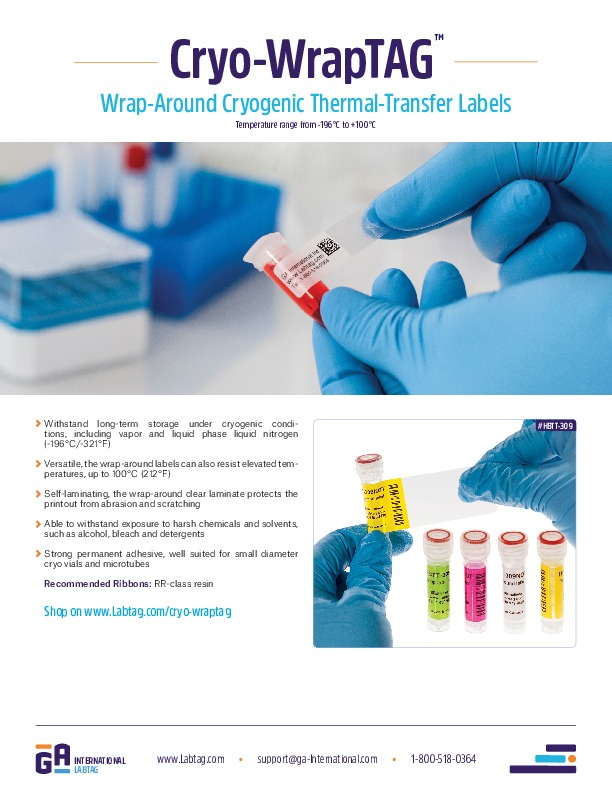 Cryo-WrapTAG™