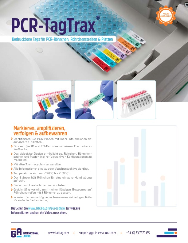 PCR-TagTrax® (deutsch)