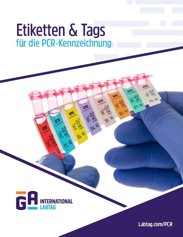 Etiketten & Tags für die PCR-Kennzeichnung
