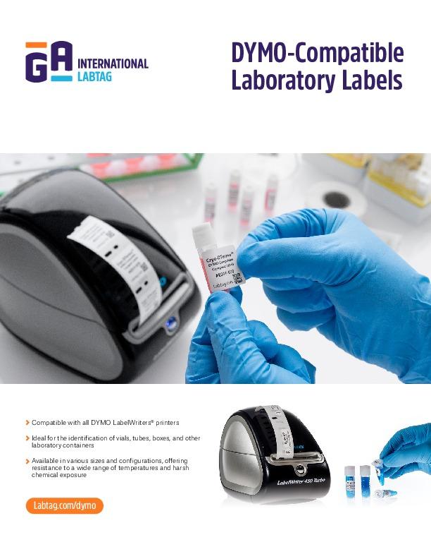 Dymokompatible Laboretiketten